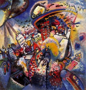 Wassily-Kandinsky-Moscow-I-Oil-Painting